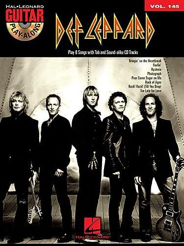 9781458414885: Def Leppard: Guitar Play-Along Volume 145