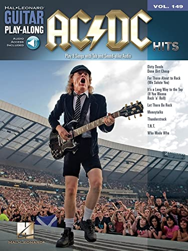 9781458414922: GPA V.149 AC/DC HITS+CD (Guitar Play Along)
