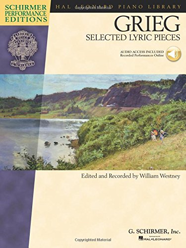 9781458414984: Edvard Grieg - Selected Lyric Pieces: Piano With online audio (Schirmer Performance Editions)