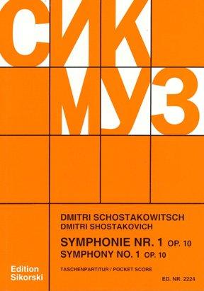 Symphony No  1, Op  10 - AbeBooks