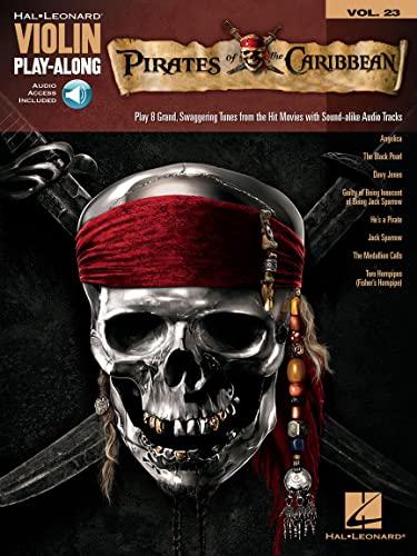 9781458415554: Pirates Of the Caribbean - Violin Play-Along Volume 23 (Book & Online Audio) (Hal Leonard Violin Play Along)