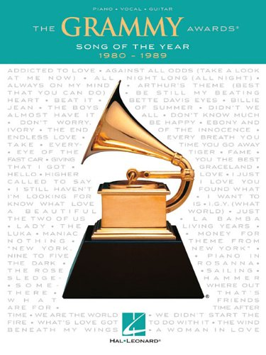 9781458415592: The Grammy Awards Song of the Year 1980-1989