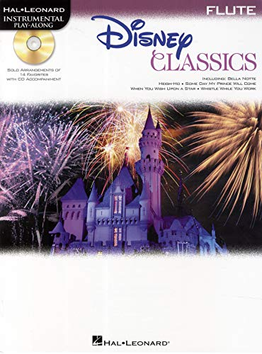 9781458415967: Disney Classics: For Flute Instrumental Play-along Pack