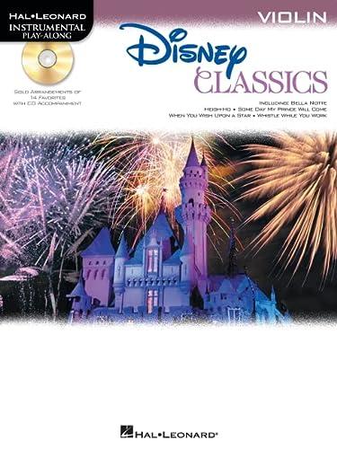 9781458416032: Disney Classics for Violin Violon +CD (Disney Classics Playalong)