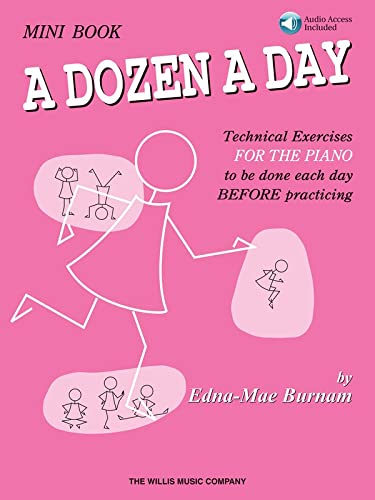 9781458416124: A Dozen a Day Mini Book - Book/Online Audio (Dozen a Day Songbooks)