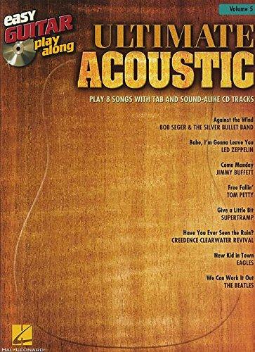 9781458416148: Easy Guitar Play-Along Vol.005 Ultimate Acoustic Tab + Cd