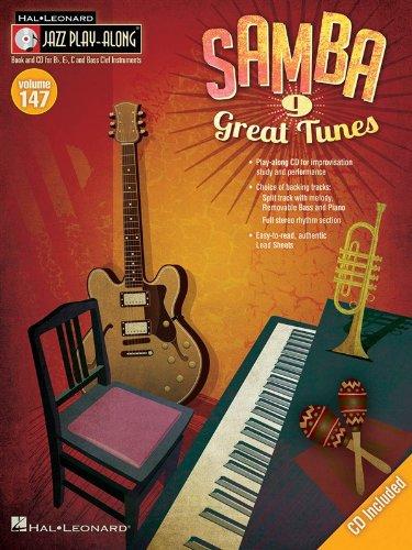 9781458417510: Samba: Jazz Play-Along Volume 147 (Book/CD)