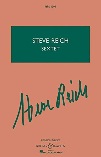 9781458417527: Steve Reich Sextet: For Percussion and Keyboards