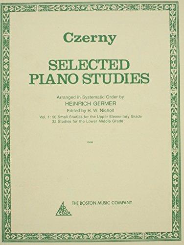 SELECTED PIANO STUDIES: Carl Czerny
