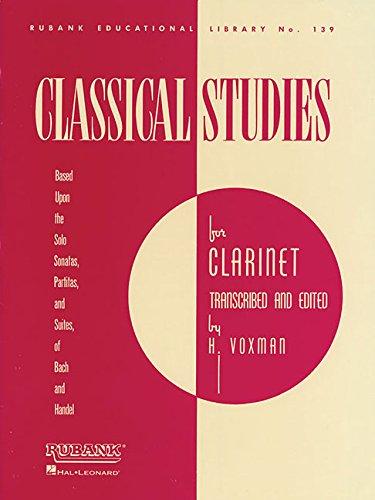 9781458417961: Classical Studies for Clarinet: Clarinet Method