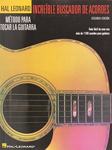 9781458418098: Incredible Chord Finder - Spanish Edition: Increible Buscador de Acordes (Hal Leonard)