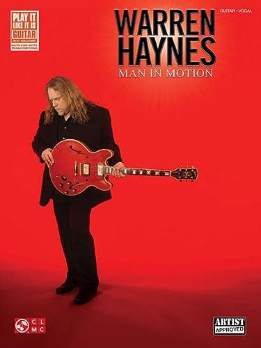 9781458418500: Warren Haynes - Man in Motion (Play It Like It Is Guitar)