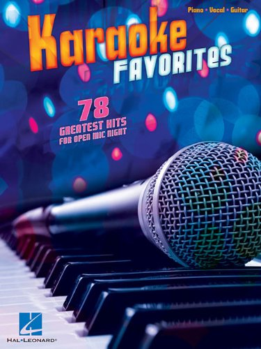 9781458418760: Karaoke Favorites - 78 Greatest Hits for Open Mic Night