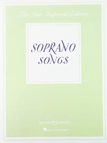 9781458419675: SOPRANO SONGS NEW IMPERIAL EDITION VOICE AND PIANO