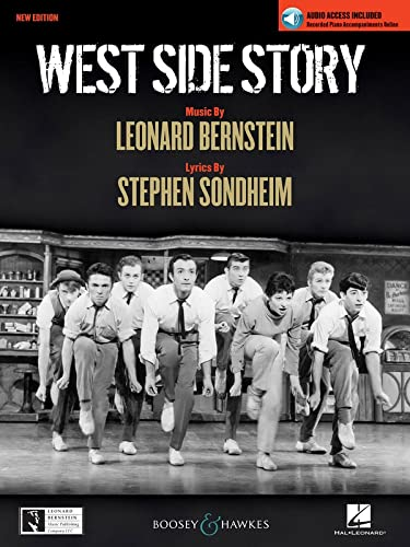 West Side Story: Piano/Vocal Selections with online Piano Recording