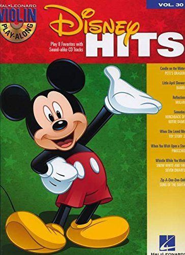 9781458419842: Disney Hits - Violin Play-Along Volume 30 (Bk/CD) (Hal Leonard Violin Play Along)