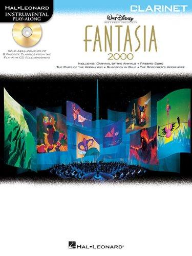 Fantasia 2000 For Clarinet - Instrumental Play-Along Book/CD Pkg