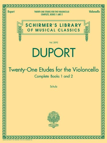 9781458421074: TWENTY-ONE ETUDES FOR THE VIOLONCELLO BOOKS 1 & 2