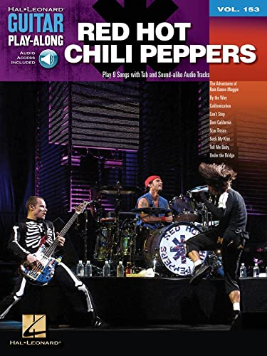 Red Hot Chili Peppers: Guitar Play-Along Volume 153 (Hal Leonard Guitar Play-Along) (9781458421487) by Red Hot Chili Peppers