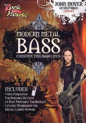 9781458422101: Moyer John Modern Metal Bass DVD