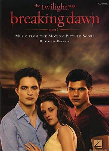9781458422576: Carter Burwell: Twilight - Breaking Dawn Part 1 Film Score (Piano Solo) (Piano Solo Songbook)