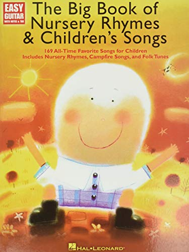 9781458422880: The Big Book of Nursery Rhymes & Children's Songs: Easy Guitar with Notes and Tab
