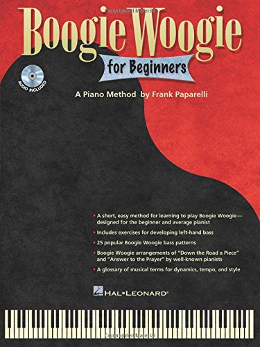 9781458423092: Boogie Woogie for Beginners - A Piano Method by Frank Paparelli (Book/CD Edition)