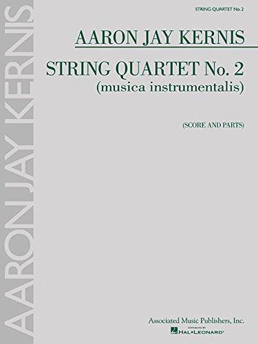 String Quartet No. 2 (Musica Instrumentalis) - Score And Parts