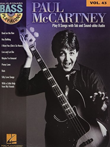 Paul McCartney: Bass Play-Along Volume 43: McCartney, Paul