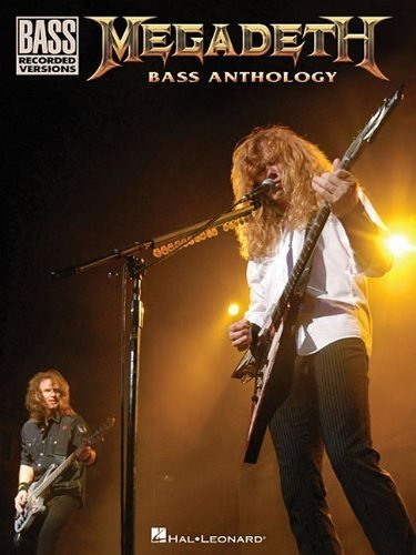 9781458423641: Megadeth Bass Anthology (Bass Recorded Versions)