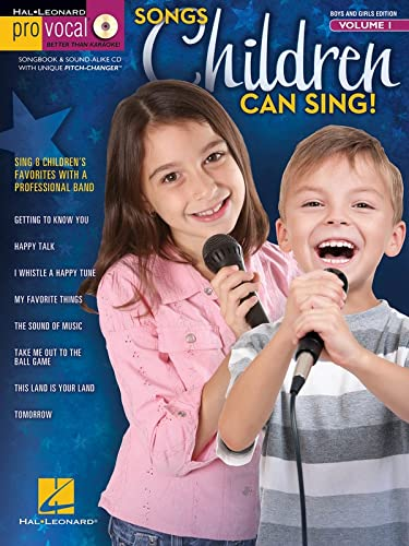 9781458423672: Songs Children Can Sing - Pro Vocal For Kids Vol. 1 (For Boys And Girls) (Hal Leonard Pro Vocal (Numbered))