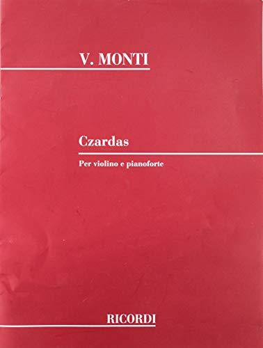 9781458424112: CZARDAS VIOLIN PIANO