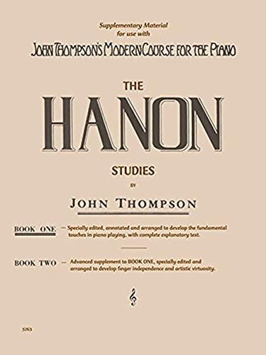 9781458424334: Hanon Studies - Book 1: Elementary Level