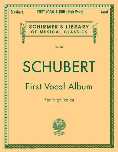 First Vocal Album for High Voice (Schirmer's: Franz Schubert