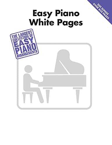 9781458425300: Easy Piano White Pages