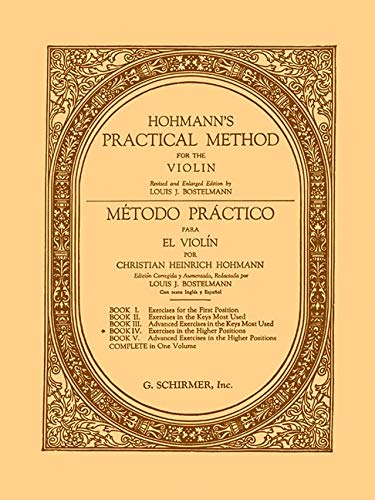 PRACTICAL METHOD BK4 VIOLIN SPANISH ENGLISH: Christian Heinrich Hohmann