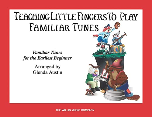 9781458426871: Teaching Little Fingers To Play Familiar Tunes Piano