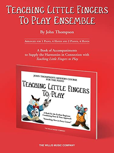 9781458426901: Teaching Little Fingers to Play Ensemble: Optional Accompaniments for the TLF Method (Teaching Little Fingers to Play Supplementary Series)
