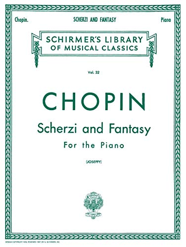 9781458434111: SCHERZI & FANTASY F MINOR PIANO