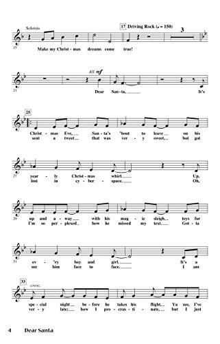 9781458434692: Dear Santa: A Musical Tweet for Christmas (Expressive Arts)