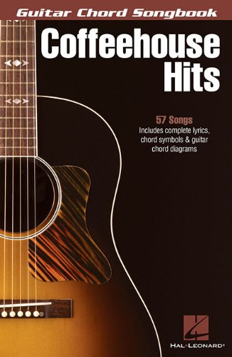 9781458438027: Coffeehouse Hits - Guitar Chord Songbook