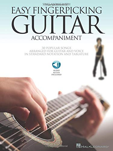 9781458441362: Sing Along with Easy Fingerpicking Guitar Accompaniment: 2 CDs Included! (Guitar Collection)