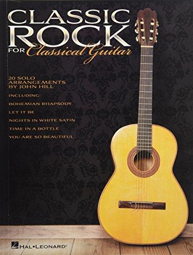 9781458451286: Classic rock for classical guitar guitare