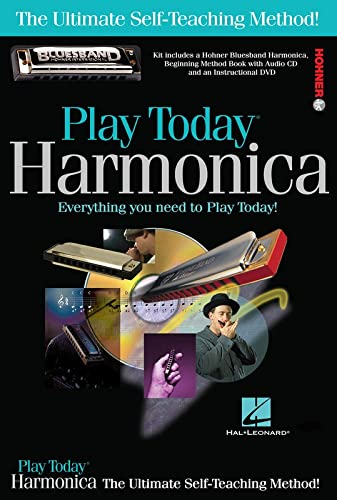 9781458456748: Play Harmonica Today! Complete Kit: Includes Everything You Need to Play Today! (Play Today!, Level 1)