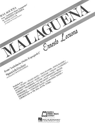 MALAGUENA SPANISH GUITAR Format: Softcover
