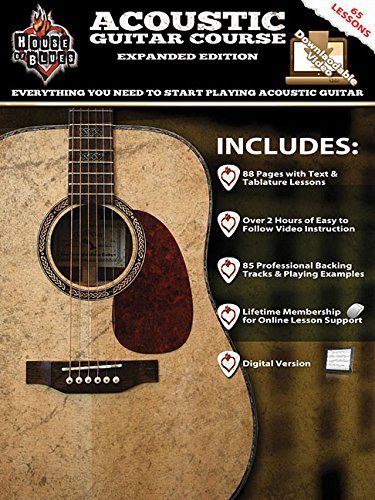 House of Blues Acoustic Guitar Course - Expanded Edition (9781458459695) by John McCarthy