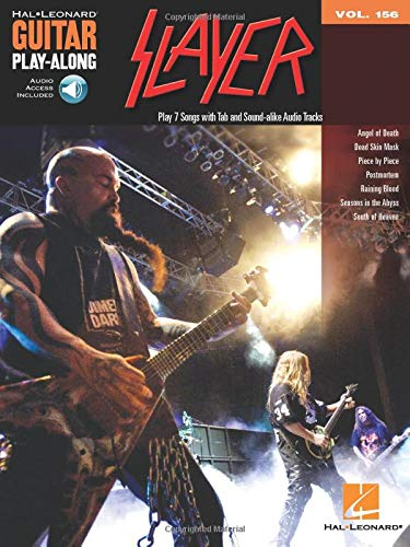 9781458462749: Slayer: Guitar Play-Along Volume 156 (Book/CD)