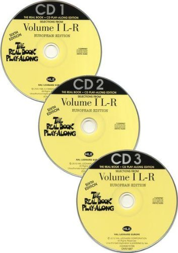 9781458462770: The Real Book Playalong Sixth Edition - Volume 1 L-R (3 CDs)