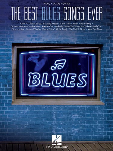 9781458465603: Best Blues Songs Ever (Piano/Vocal/Guitar)
