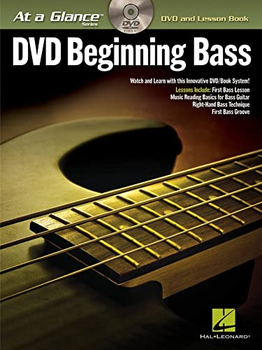 9781458485175: Beginning Bass - At a Glance (DVD and Lesson Book)